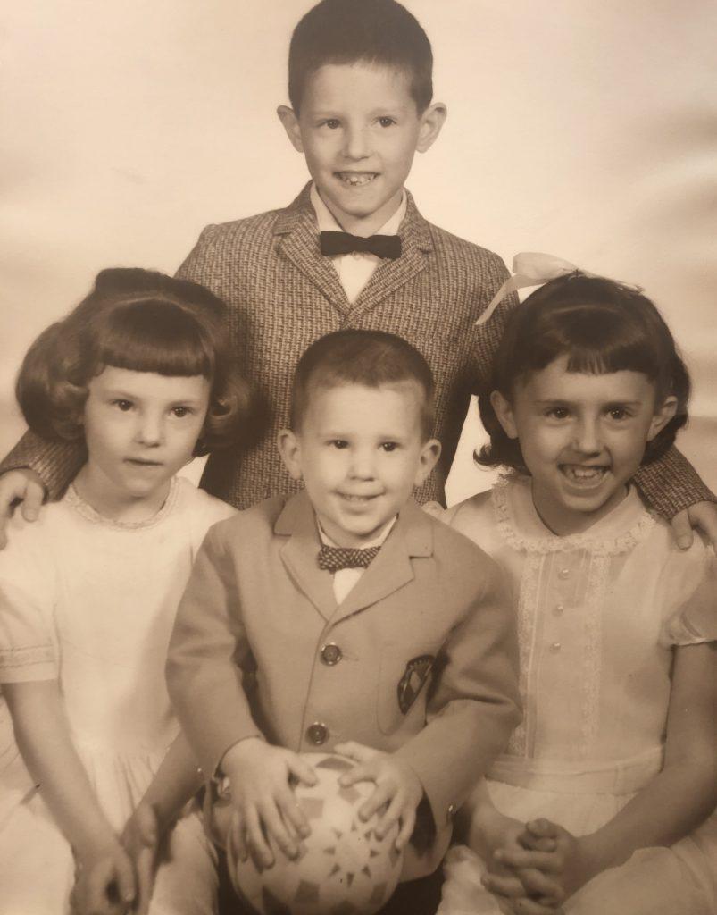 Four cute kids
